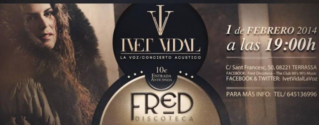 Concert d'Ivet Vidal