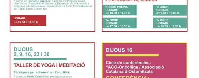 Activitats Vallès – Març 2017