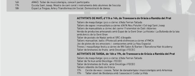 Oncolliga participarà aquest dissabte a la 6a Festa Teixint Connexions per La Marató de TV3