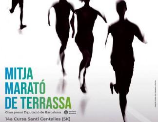 Oncolliga present a la 20a Mitja Marató Terrassa