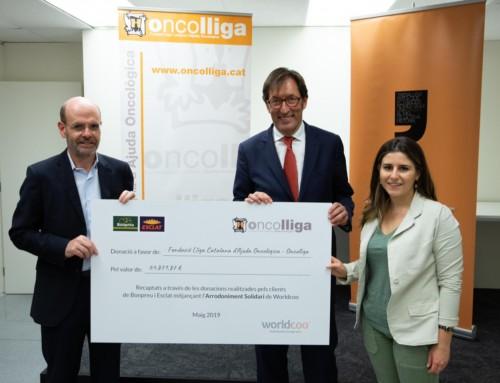Els clients de Bonpreu i Esclat donen 64.871€ a la Fundació Oncolliga
