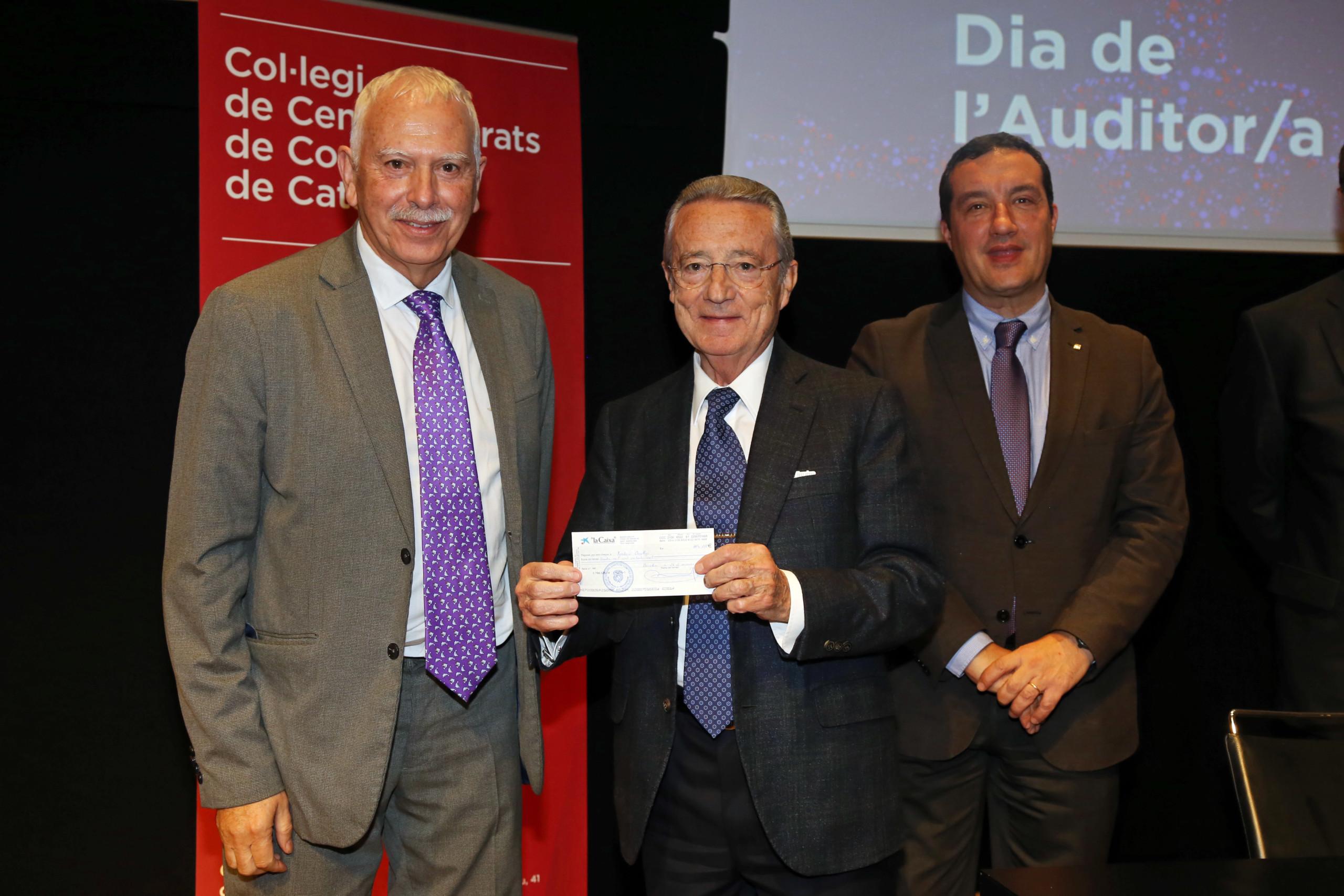 """La Fundació Oncolliga, premi """"Ajut a la Cooperació"""" dels auditors catalans"""