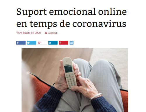 Suport emocional online en temps de coronavirus