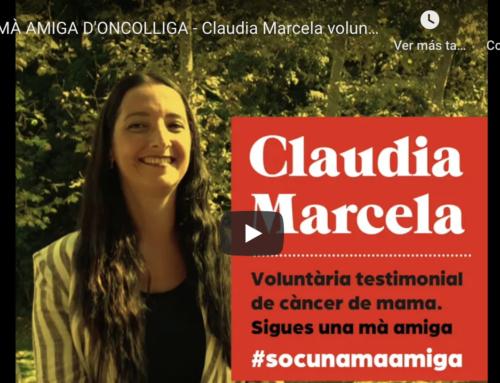 Voluntaris testimonials de càncer de mama, mans amigues d'Oncolliga