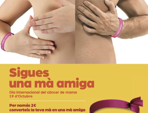 Oncolliga posa en marxa una campanya de prevenció del càncer de mama femení i masculí a les farmàcies